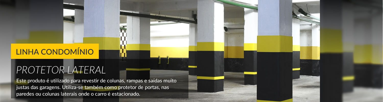 Protetor Lateral para Estacionamento
