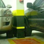 Protetor de estacionamento