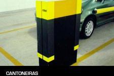 Cantoneira de proteção para estacionamento