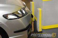 Protetor de impacto para garagem e estacionamento