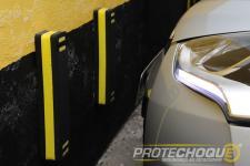 Protetor de parachoque para estacionamento