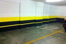 Protetor de parede e coluna para estacionamento e garagem
